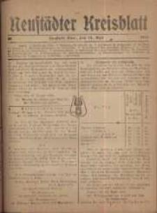Neustadter Kreis - Blatt, nr.38, 1918