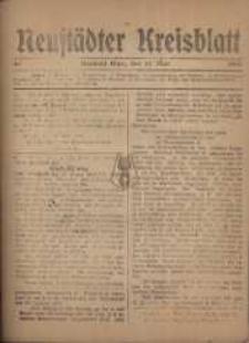 Neustadter Kreis - Blatt, nr.40, 1918