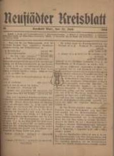 Neustadter Kreis - Blatt, nr.48, 1918