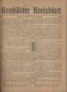 Neustadter Kreis - Blatt, nr.49, 1918