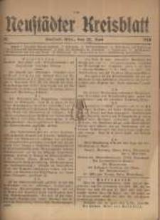 Neustadter Kreis - Blatt, nr.50, 1918