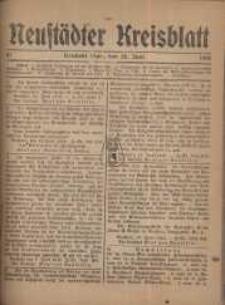 Neustadter Kreis - Blatt, nr.51, 1918