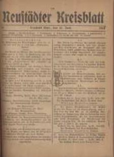 Neustadter Kreis - Blatt, nr.52, 1918
