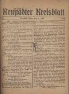 Neustadter Kreis - Blatt, nr.54, 1918