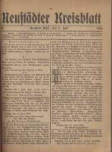 Neustadter Kreis - Blatt, nr.55, 1918