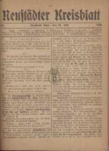 Neustadter Kreis - Blatt, nr.57, 1918