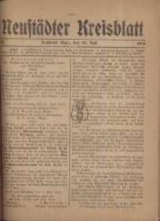 Neustadter Kreis - Blatt, nr.58, 1918