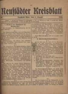 Neustadter Kreis - Blatt, nr.64, 1918