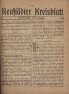 Neustadter Kreis - Blatt, nr.65, 1918