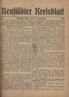 Neustadter Kreis - Blatt, nr.73, 1918
