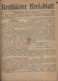 Neustadter Kreis - Blatt, nr.74, 1918