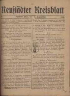 Neustadter Kreis - Blatt, nr.76, 1918