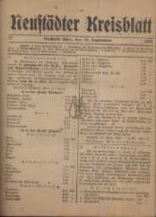 Neustadter Kreis - Blatt, nr.77, 1918