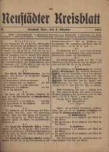 Neustadter Kreis - Blatt, nr.82, 1918
