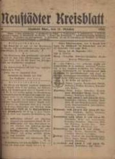 Neustadter Kreis - Blatt, nr.84, 1918