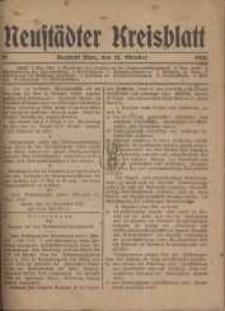 Neustadter Kreis - Blatt, nr.85, 1918