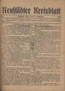 Neustadter Kreis - Blatt, nr.86, 1918