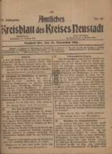 Neustadter Kreis - Blatt, nr.97, 1918