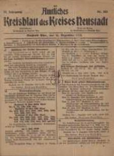 Neustadter Kreis - Blatt, nr.102, 1918