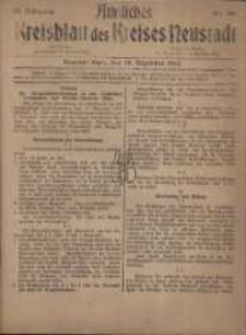 Neustadter Kreis - Blatt, nr.104, 1918