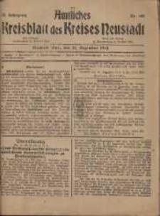 Neustadter Kreis - Blatt, nr.105, 1918