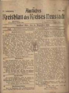 Neustadter Kreis - Blatt, nr.108, 1918