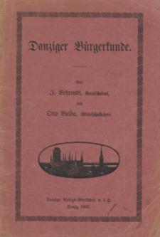 Danziger Bürgerkunde