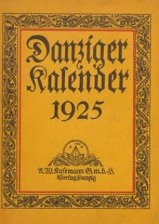 Danziger Kalender 1925