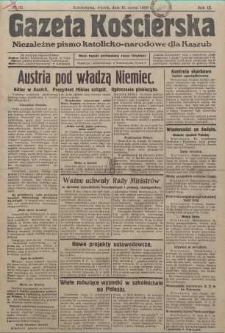 Gazeta Kościerska, 1938, nr32