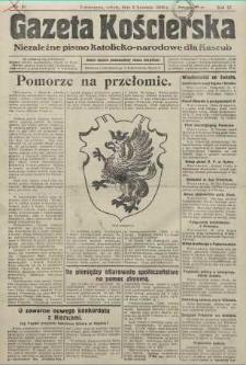 Gazeta Kościerska, nr 40, 1938