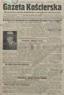 Gazeta Kościerska, nr 52, 1938