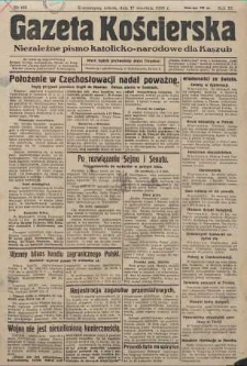 Gazeta Kościerska, nr 112, 1938