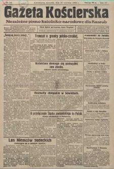 Gazeta Kościerska, nr 114, 1938