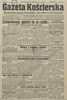 Gazeta Kościerska, nr 115, 1938