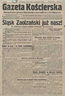 Gazeta Kościerska, nr 119, 1938