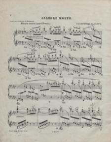 Allegro molto : As-dur : op.13 no 4 : pour piano / par Jules Zarembski ; doigté par Al[exander] Michałowski