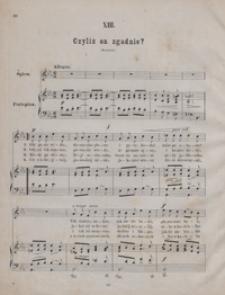 Czyliż on zgadnie : [pieśń] Es-dur : op.13 no 13 : [na głos wysoki] z towarzyszeniem fortepianu / [sł.] przez Magdusię