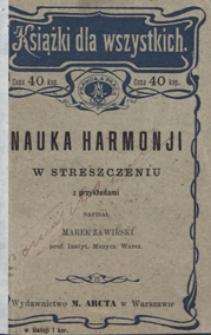 Nauka harmonii w streszczeniu z przykładami
