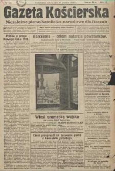 Gazeta Kościerska, nr 157, 1938