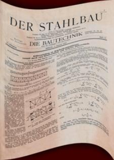 """Der Stahlbau : Beilage zur Zeitschrift """"Die Bautechnik"""", 1942, Jg. 15"""