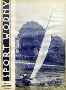 Sport Wodny, 1939, nr 9
