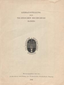 Lehrausstellung der Technischen Hochschule Danzig