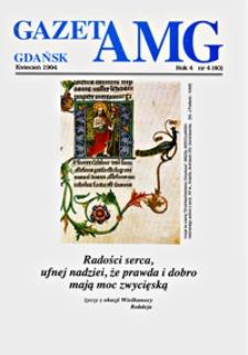 GazetAMG, 1994, R. 4, nr 4