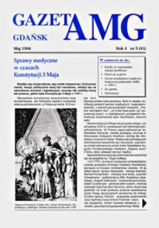GazetAMG, 1994, R. 4, nr 5