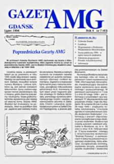GazetAMG, 1994, R. 4, nr 7