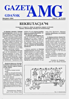 GazetAMG, 1994, R. 4, nr 8