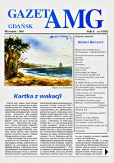 GazetAMG, 1994, R. 4, nr 9