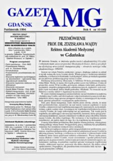GazetAMG, 1994, R. 4, nr 10