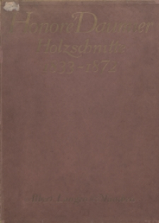 Honoré Daumier : Holzschnitte: 1833-1870
