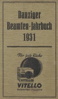 Danziger Beamten - Jahrbuch ...1931